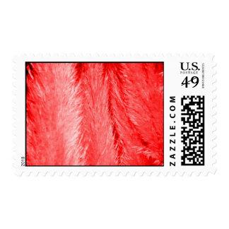 Pelusa roja franqueo