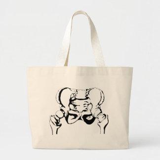 Pelvis Bone Tote Bag