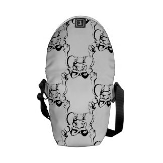 Pelvis Bones Messenger Bag