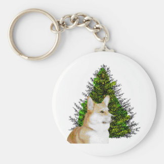 PEM WITH CHRISTMAS TREE KEYCHAINS
