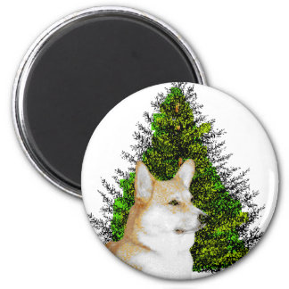 PEM WITH CHRISTMAS TREE MAGNETS
