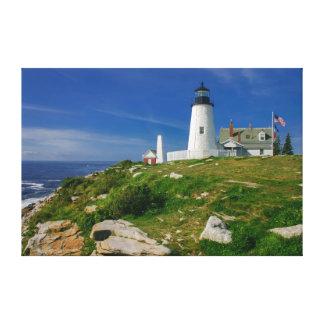 Pemaquid Lighthouse, Maine, USA Canvas Print