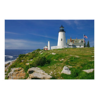 Pemaquid Lighthouse, Maine, USA Photo Print
