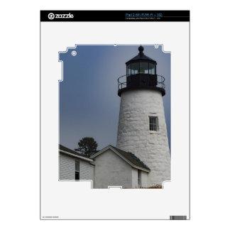 Pemaquid Lighthouse Skins For iPad 2