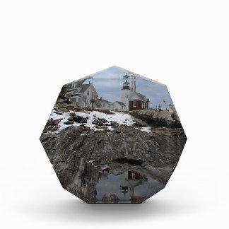 Pemaquid Point in Winter Acrylic Award