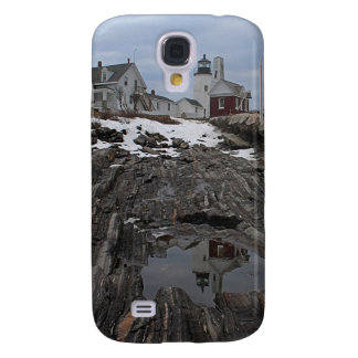 Pemaquid Point in Winter Galaxy S4 Cover