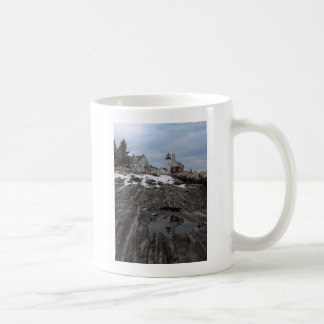 Pemaquid Point in Winter Mugs