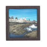 Pemaquid Point Lighthouse 14 Jewelry Box