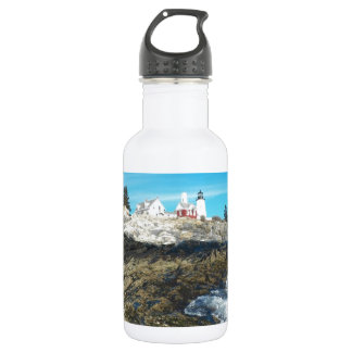 Pemaquid Point Lighthouse 14 Stainless Steel Water Bottle