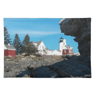 Pemaquid Point Lighthouse 22 Cloth Placemat