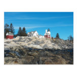 Pemaquid Point Lighthouse 4 Postcard