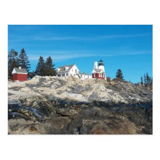 Pemaquid Point Lighthouse 4 Postcard