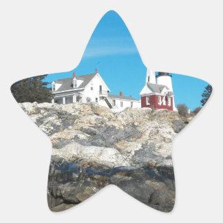 Pemaquid Point Lighthouse 4 Star Sticker