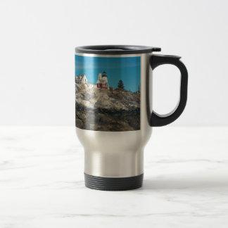 Pemaquid Point Lighthouse 4 Travel Mug