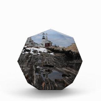Pemaquid Point  Lighthouse Acrylic Award