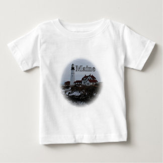 Pemaquid Point Lighthouse Baby T-Shirt