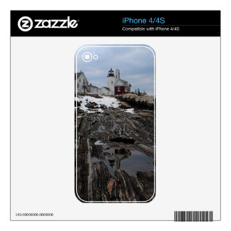 Pemaquid Point  Lighthouse Decal For iPhone 4