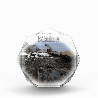 Pemaquid Point Lighthouse Maine Acrylic Award