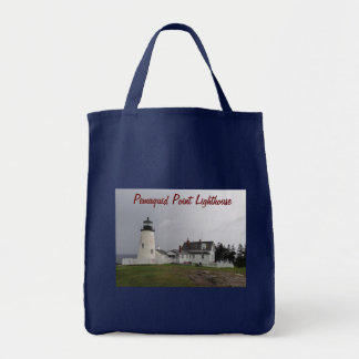 Pemaquid Point Lighthouse, Maine Grocery Tote Bag