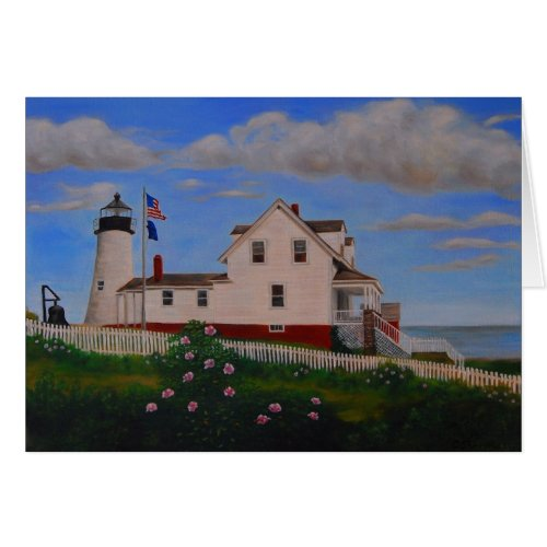 Pemaquid Point Lighthouse, Maine Card
