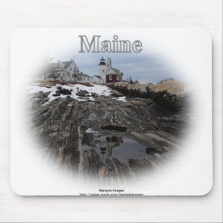 Pemaquid Point Lighthouse Maine Mouse Pad