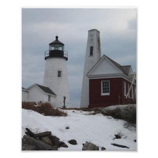 Pemaquid Point Lighthouse Photo Art