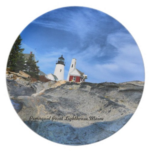 Pemaquid Point Lighthouse Plate fuji_plate