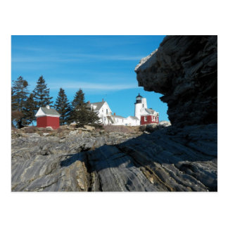 Pemaquid Point Lighthouse Postcard