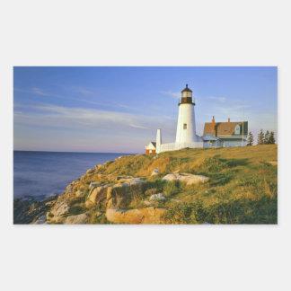 Pemaquid Point Lighthouse Rectangular Sticker