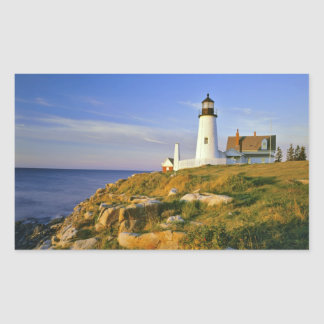 Pemaquid Point Lighthouse Rectangle Sticker