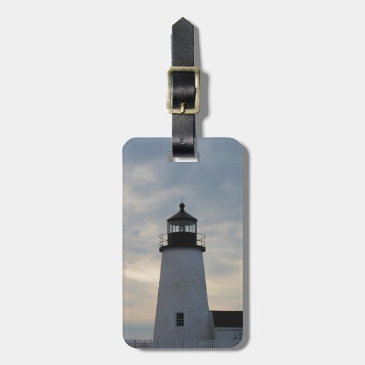 Pemaquid Point Lighthouse Tag For Bags