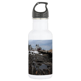 Pemaquid Point  Lighthouse Water Bottle