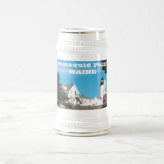 Pemaquid Point Maine Beer Stein