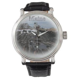 Pemaquid Point Maine Wrist Watch