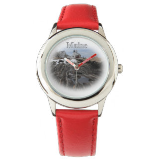 Pemaquid Point Maine Wrist Watch