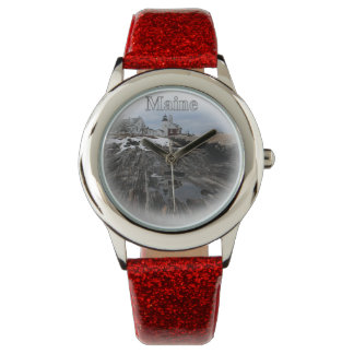 Pemaquid Point Maine Wristwatch