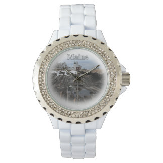 Pemaquid Point Maine Wristwatches