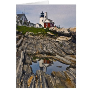 Pemaquid Reflections Card