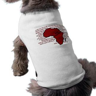 Pemba, Mozambique Scripture Doggie T Shirt