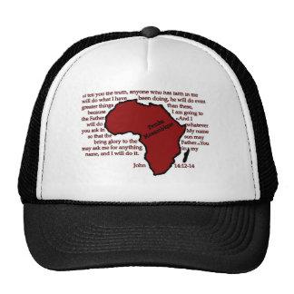 Pemba, Mozambique Scripture Trucker Hats