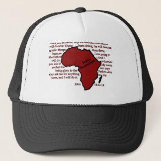 Pemba, Mozambique Scripture Trucker Hat