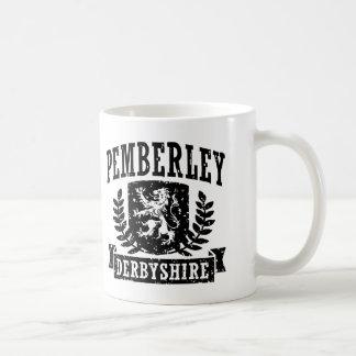Pemberley Derbyshire Coffee Mug