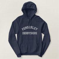 Pemberley, Derbyshire England Jane Austen hoodie