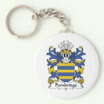 Pembridge Family Crest Keychain