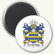Pembridge Family Crest Magnet