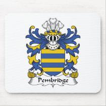 Pembridge Family Crest Mousepad
