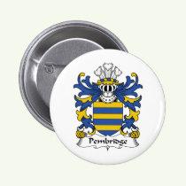 Pembridge Family Crest Button