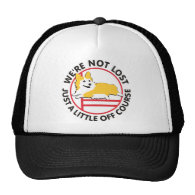 Pembroke Corgi Agility Off Course Mesh Hats