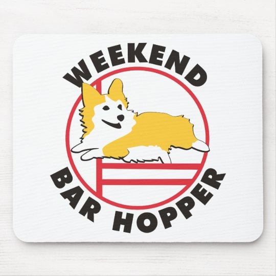 Pembroke Corgi Agility Weekend Bar Hopper Mouse Pad