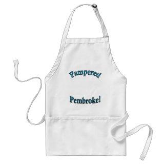 Pembroke cuidado en exceso - TealTemplate Delantal